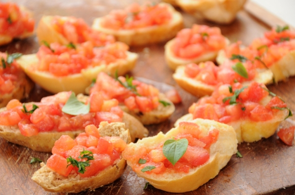 Pão tomate
