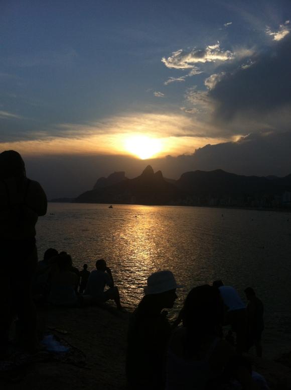 E foi lindo demais! Obrigada pela energia Rio!